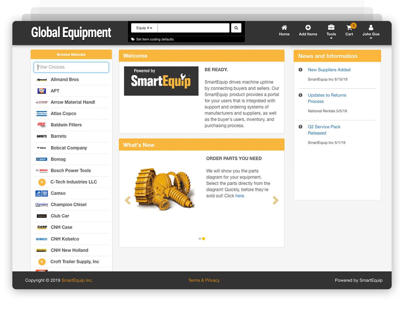screenshot_procurement_home